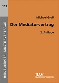 Der Mediatorvertrag