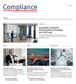 Compliance newsletter april 17 bild